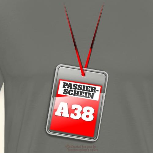 Passierschein A38 | Geek T-Shirts - Männer Premium T-Shirt
