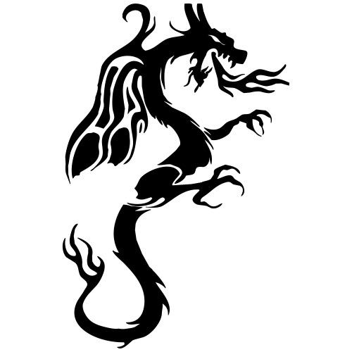 Winged Dragon - Männer Premium T-Shirt