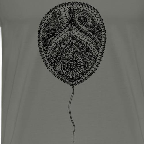 Luftballon Mandala, Balloon Mandala - Männer Premium T-Shirt