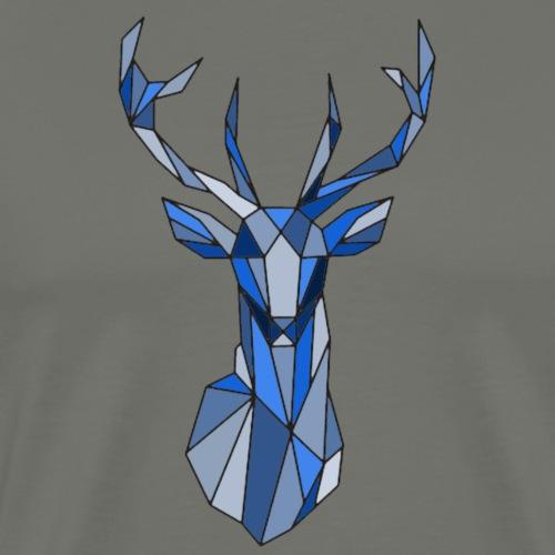 Pull Cerf de Noël moderne - T-shirt Premium Homme