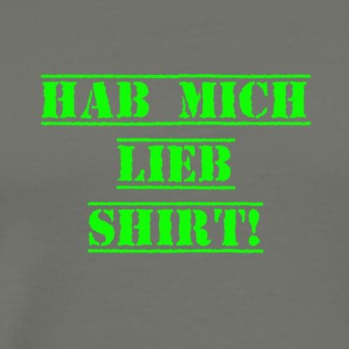 Hab mich Lieb Shirt! - Männer Premium T-Shirt