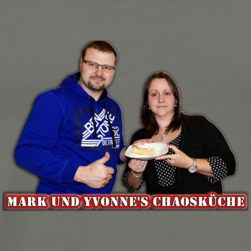 Mark und Yvonne Chaoskueche Logo - Männer Premium T-Shirt