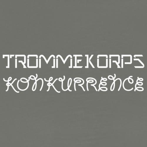 TK WHITE - Herre premium T-shirt