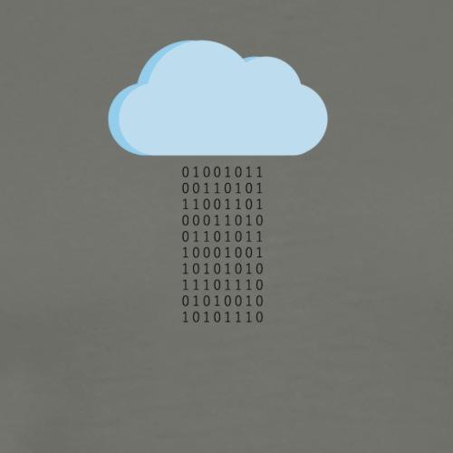 It's Raining Bits - Maglietta Premium da uomo