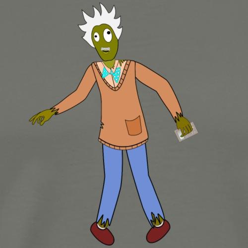 zombie matemático - Camiseta premium hombre
