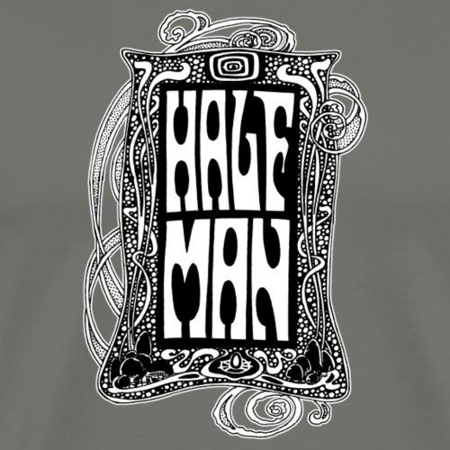 Half Man - Premium-T-shirt herr