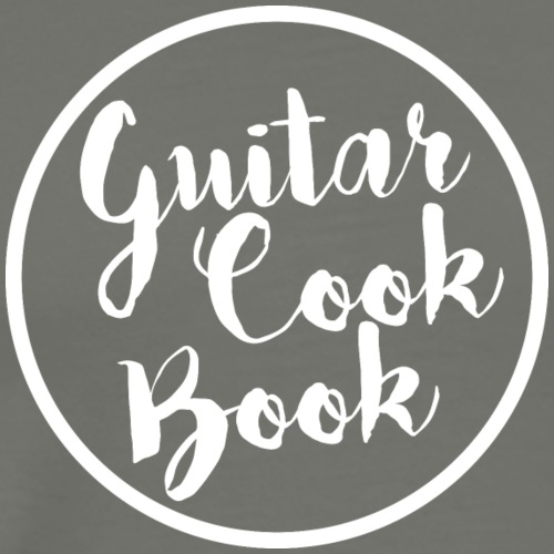 guitarcookbook blanc - T-shirt Premium Homme