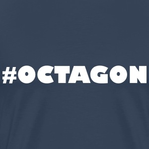 #OCTAGON - Men's Premium T-Shirt