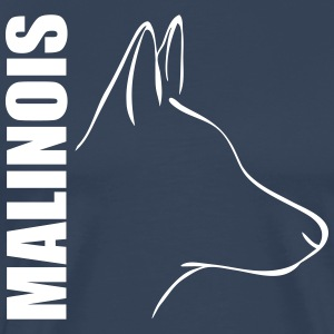MALINOIS PROFILE - Men's Premium T-Shirt