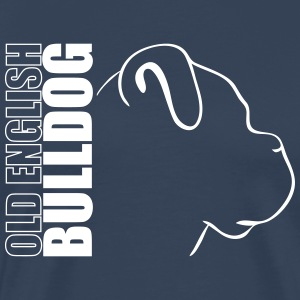 OLD ENGLISH BULLDOG PROFIL WILSIGNS - Männer Premium T-Shirt