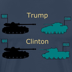 Trump or Clinton - Men's Premium T-Shirt