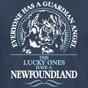 GUARDIAN ANGEL NEWFOUNDLAND - Men's Premium T-Shirt