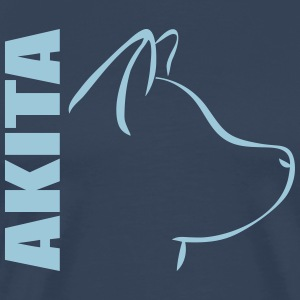 AKITA PROFILE - Men's Premium T-Shirt