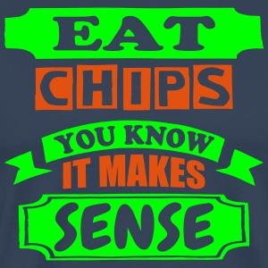 Eat Chips - Men's Premium T-Shirt