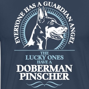 GUARDIAN ANGEL DOBERMAN PINSCHER k - Men's Premium T-Shirt