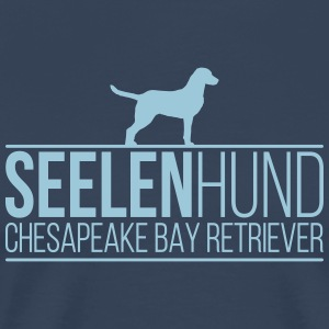 Retriever SOUL DOG ​​Chesapeake Bay - Mannen Premium T-shirt
