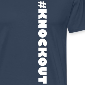 #KNOCKOUT - Premium T-skjorte for menn