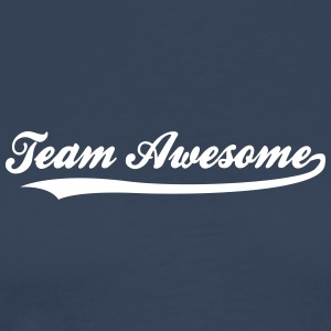 Team Awesome! - Premium T-skjorte for menn