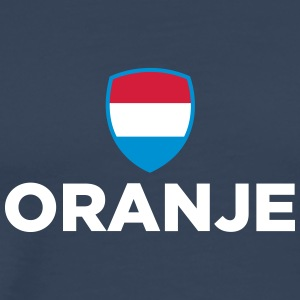 National Flag Of Netherlands - Herre premium T-shirt