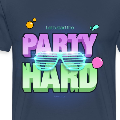 Let's start the party hard - T-shirt Premium Homme