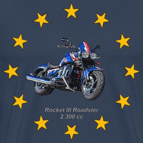 Rocket III Roadster Gold Stars - Sterne - Männer Premium T-Shirt