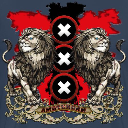 Amsterdams wapen 2018 white - Mannen Premium T-shirt