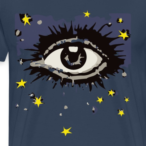 Eye in the Night Sky - Mannen Premium T-shirt