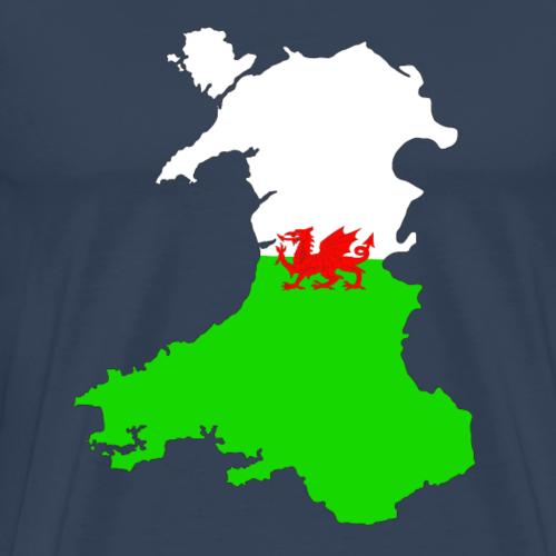Wales Double Exposure - Men's Premium T-Shirt