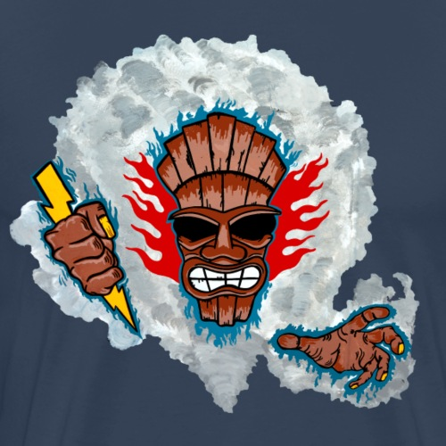 Tiki-Gott - Männer Premium T-Shirt