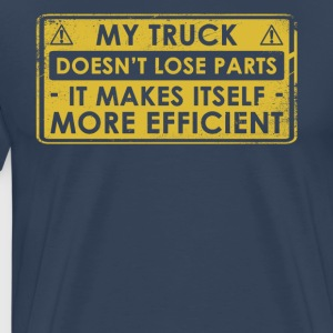 Original Gift For Truck Driver - Men's Premium T-Shirt