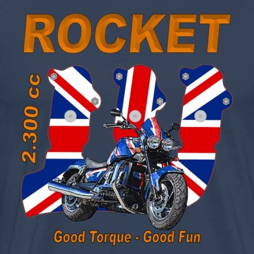 good torque – good fun Rocket III Roadster UK - Männer Premium T-Shirt