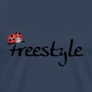 Bugslife freestyle - Premium T-skjorte for menn