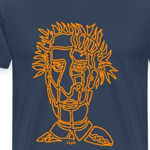 Face Orange - Men's Premium T-Shirt