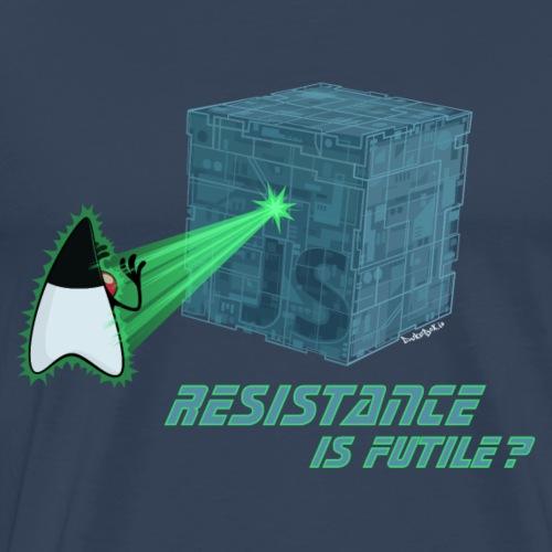 Resistance is futile? - Männer Premium T-Shirt