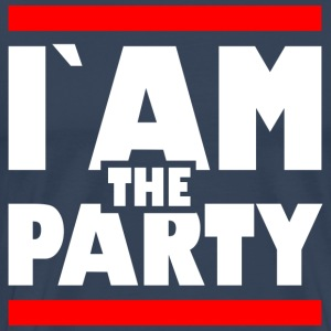 IAM den party1 - Premium-T-shirt herr
