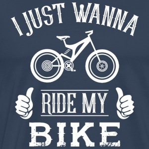 Me and My Bike - Premium T-skjorte for menn