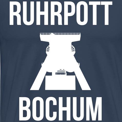 RUHRPOTT BOCHUM - Deine Ruhrpott Stadt - Männer Premium T-Shirt