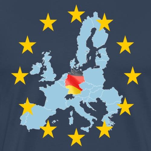 EU Germany (Deutschland Europa) - Männer Premium T-Shirt