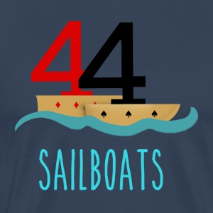 Poker 44 Sailboats - Men's Premium T-Shirt