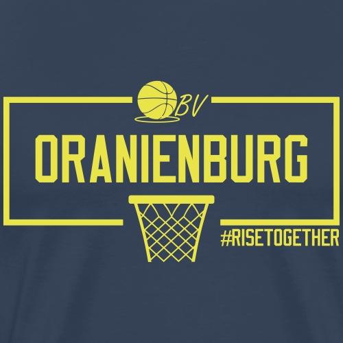Oranienburg Gelb - Männer Premium T-Shirt