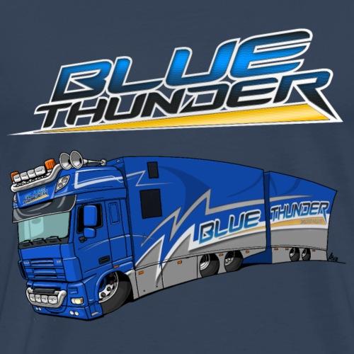 BlueThunder + Truck - Mannen Premium T-shirt