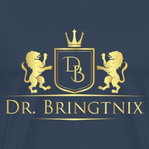 Dr.Bringtnix luxury coat of arms Löwengold - Men's Premium T-Shirt