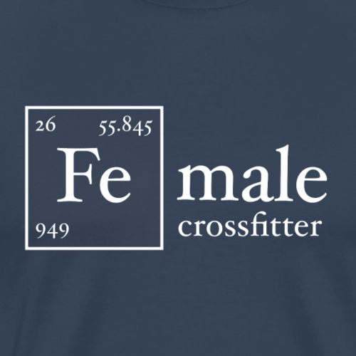 Fe Crossfitter - Men's Premium T-Shirt