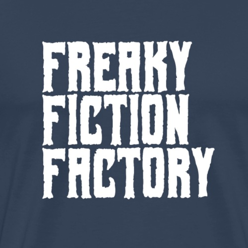 Freaky Fiction Factory Offical Logo Weiß - Männer Premium T-Shirt