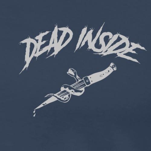 DEAD INSIDE cotedd grey - Maglietta Premium da uomo