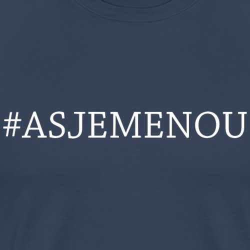 asjemenou - Mannen Premium T-shirt