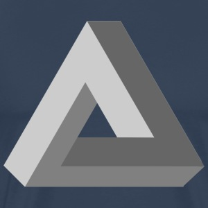 Triangle Impossible 3D - T-shirt Premium Homme