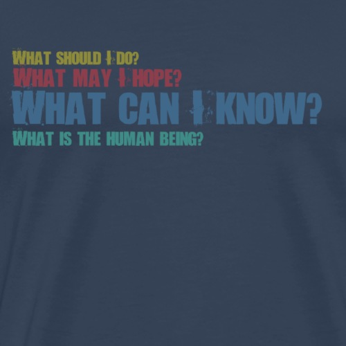 What Can I Know? - Männer Premium T-Shirt