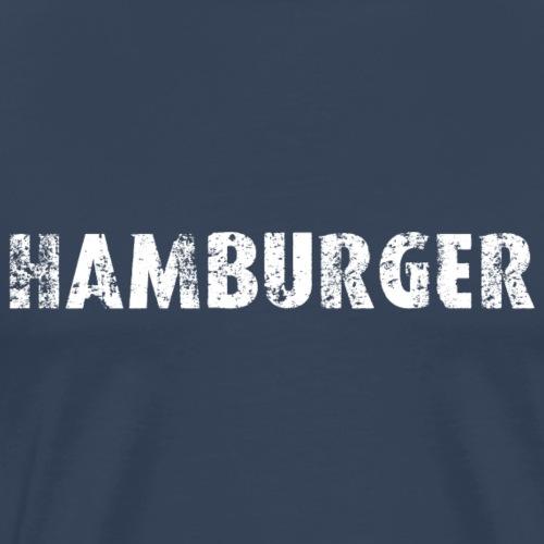 2534 Hamburger - Männer Premium T-Shirt