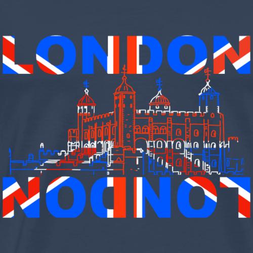 Tower of London - Männer Premium T-Shirt